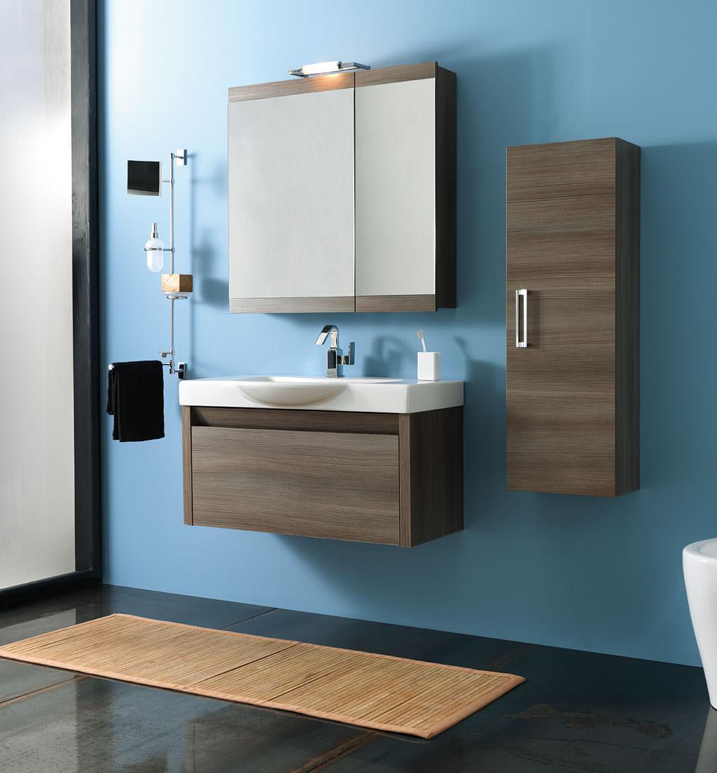 Come arredare i bagni moderni bagno italiano blog - Bagno blu e bianco ...
