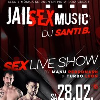 """Jail Sex Music"" por Turbo Leon & Manu Perronash en Strong"