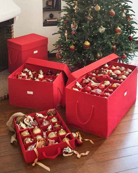 Storing Your Holiday Ornaments - how to store christmas decorations