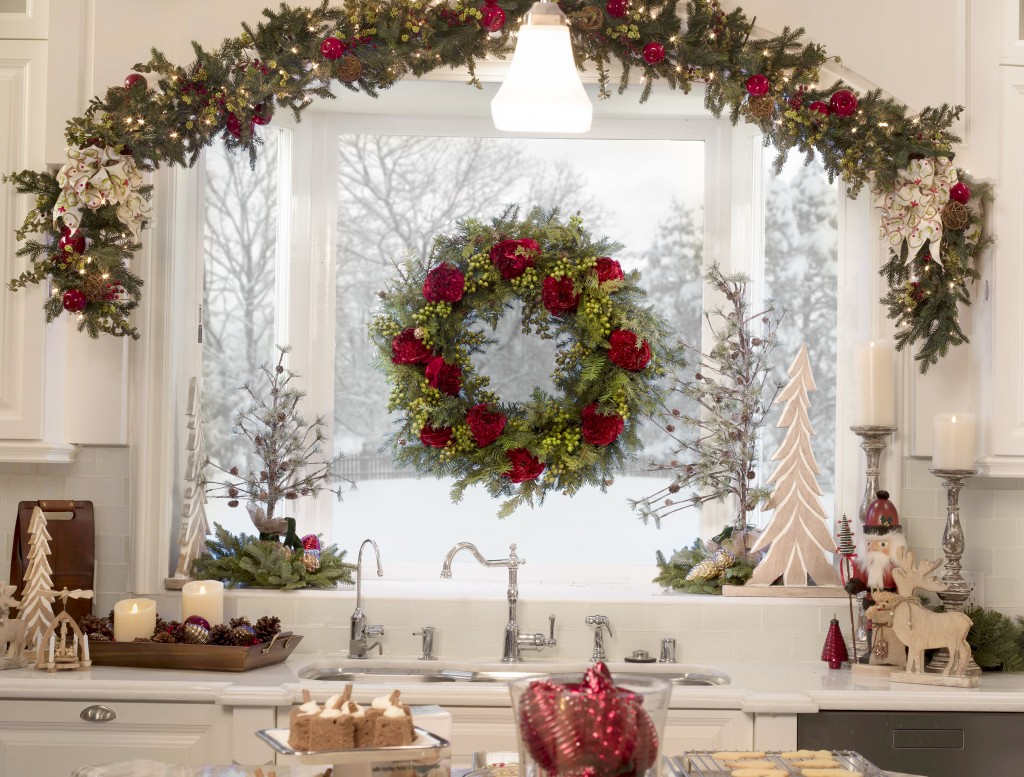 How to Hang Garland & Wreaths