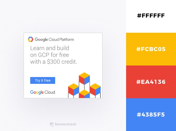 40 Eye-Catching Color Combinations In Display Ads
