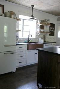 Industrial Pendants for Farmhouse Kitchen Makeover | Blog ...