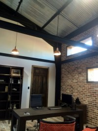 Copper Pendant Lighting Elevates Industrial Office Space ...
