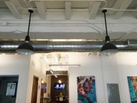 Industrial Pendants Lend Chic Touch to Miami Office Space ...