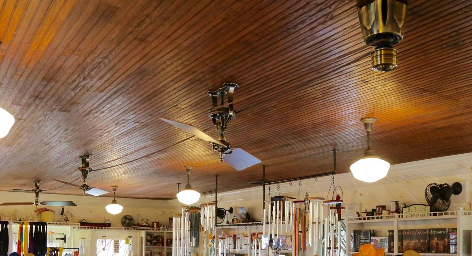 Belt Driven Ceiling Fans Vintage Ceiling Fan For Lakeside Historic Building Blog