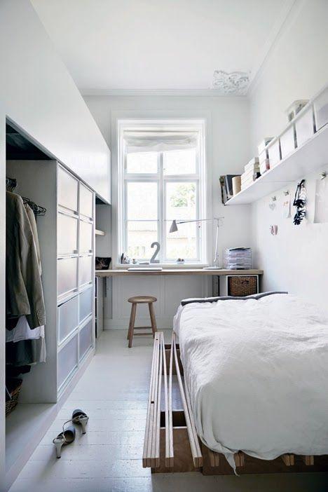 Wohnen mit wenig Platz Sweet Home - schlafzimmer ideen fr wenig platz