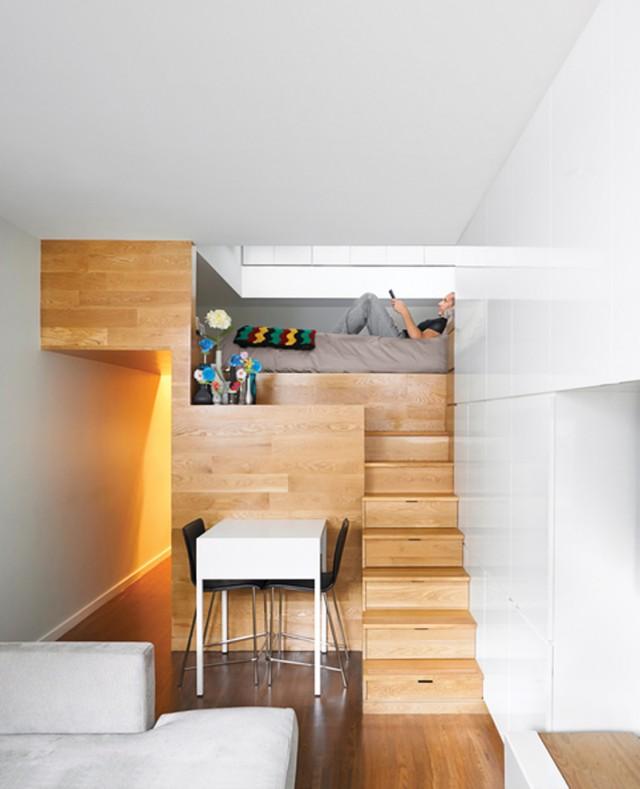 Kleine Wohnung ganz gross Sweet Home - platz schaffen einem kleinen esszimmer