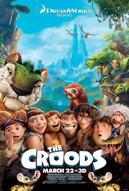 The Croods Theatrical Poster