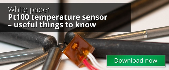 Pt100 temperature sensor \u2013 useful things to know