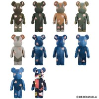 DR.ROMANELLI x FABRICK ONE OF KIND COLLECTION 1000% ベアブリック (BE@RBRICK) [情報]
