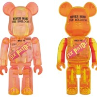SEX PISTOLS Ver.1 NEVER MIND THE BOLLOCKS Clear Ver 100% & 400% ベアブリック (BE@RBRICK) [発売]