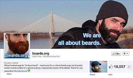 beards.org Facebook page