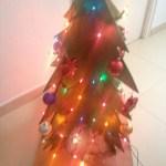 Papier mache Christmas Tree | Árbol de Navidad
