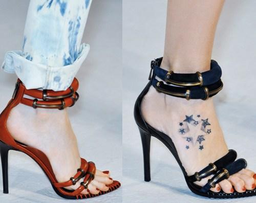Anthony Vaccarello | Paris Fashion Week / Semana de la Moda de Paris | Spring-Summer 2014 | Primavera-Verano 2014 | Shoes / Calzado