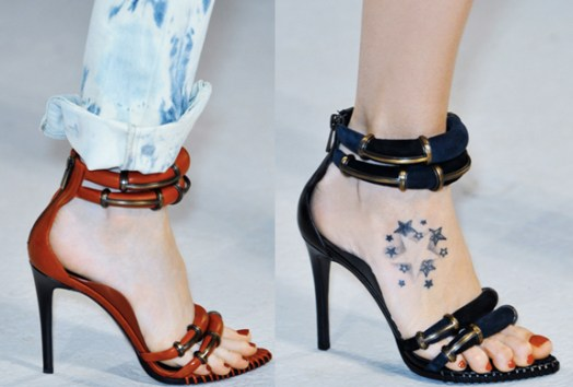 Anthony Vaccarello | Paris Fashion Week / Semana de la Moda de Paris | Spring-Summer 2014 | Primavera-Verano 2014 | Shoes / Calzado