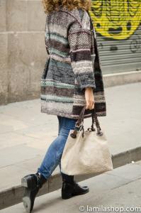 Wool Coat and Brown Bag | Abrigo de Landa y Bolso Marrón ∞ Fall-Winter 2015-16 / Otoño-Invierno 2015-16