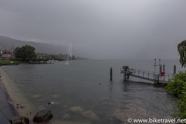 Zug in the rain