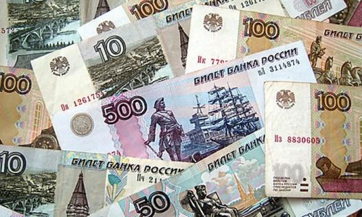 Russische Rubel [ (c) www.BilderBox.com, Erwin Wodicka, Siedlerzeile 3, A-4062 Thening, Tel. + 43 676 5103678.Verwendung nur gegen HONORAR, BELEG, URHEBERVERMERK nach AGBs auf bilderbox.com]