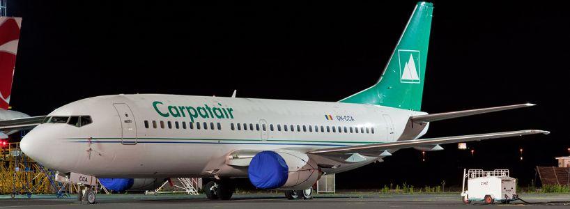 carpatair avion