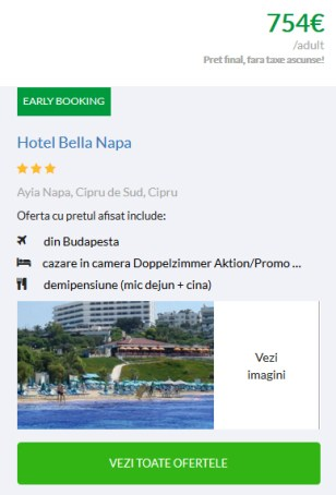 Sejur din Budapesta Bella Napa