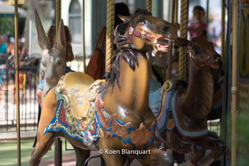 The carousel in Bryant Park - childhood memories