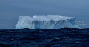 An iceberg in the Southern Ocean