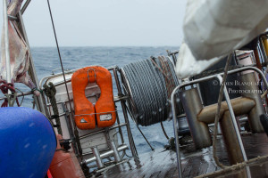 The Sarah Vorwerk sailing the Drake Passage