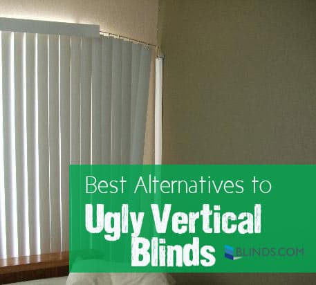 Alternatives To Vertical Blinds The Finishing Touch