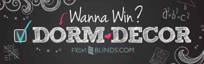 Blinds.com Dorm Decor Giveaway