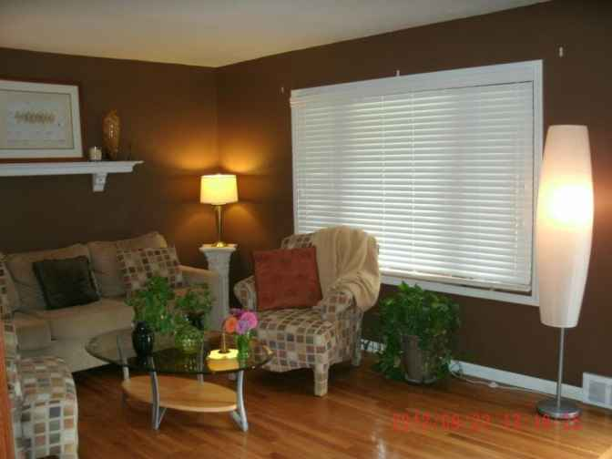 "Customer photo- Blinds.com 2"" fauxwood"