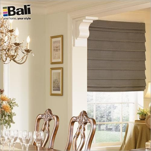 Bali Custom Tailored Roman Shade