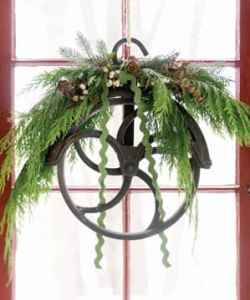 pulley wreath
