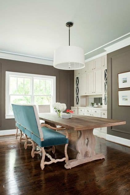Deep Taupe Dining Room - 2013 Design Trends