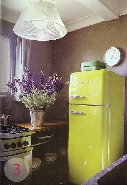Bring in a Bright Fridge to Make Your Kitchen a Little Happier!