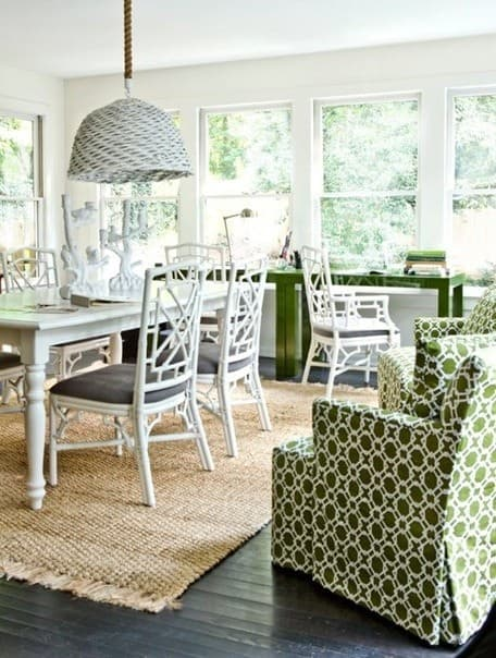 Green Slipcovers