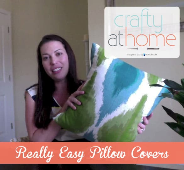 Crafty at Home: Pillow Covers D