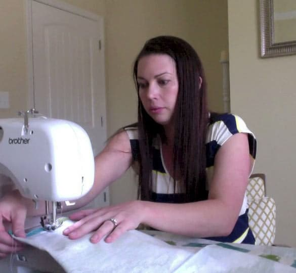 Crafty at home: Really easy pillow covers