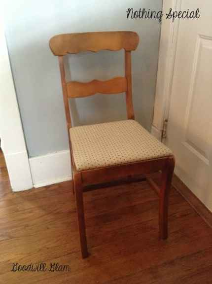 Goodwill Chair Before