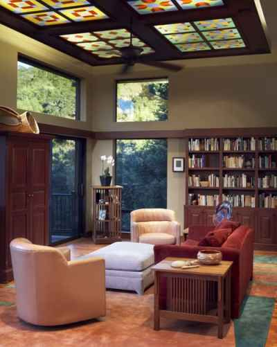 Eclectic Living Room by Mountain View General Contractors Harrell Remodeling via Houzz