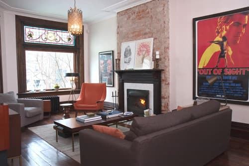 Modern Living Room by Toronto Interior Designers & Decorators Jenn Hannotte / Hannotte Interiors