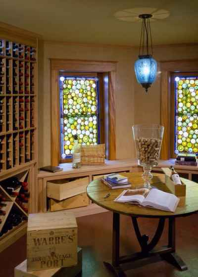 Traditional Wine Cellar by Beverly Architects & Designers Siemasko + Verbridge via Houzz