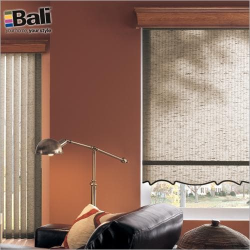 Bali roller shades on Blinds.com