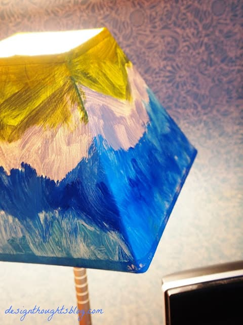 Painterly Lampshade - Design Thoughts