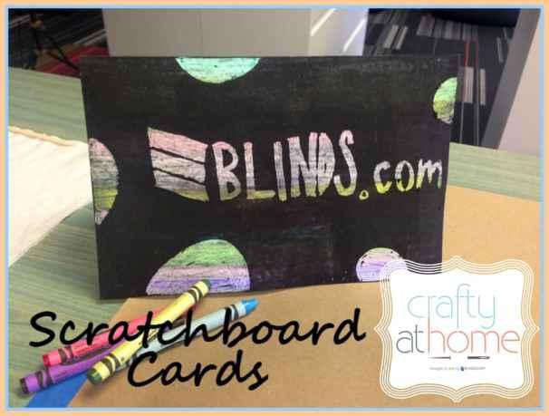 scratchboard card