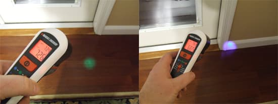 Using-Black-and-Decker-Thermal-Leak-Detector