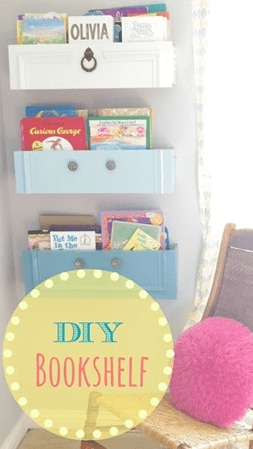 drawer book shelf