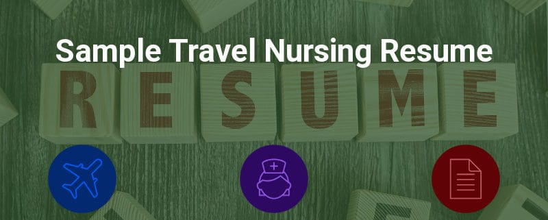 Sample Travel Nursing Resume - Free Template » BluePipes Blog - resume design sample