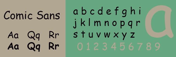 modern sans serif resume font