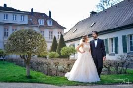 Als Hochzeitsfotograf im Schloss Ansbach mit der Orangerie in Ansbach