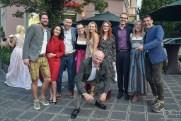 Humorvolle Gruppenbilder macht der Hochzeitsfotograf! Der Hochzeitsfotograf im Da Claudio!